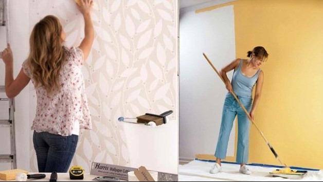 Cat Dinding VS Wallpaper: Mana yang Lebih Baik? - Blog ...