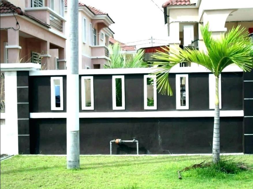 20 Pagar Rumah Minimalis, Desain Terbaru | Blog QHOMEMART