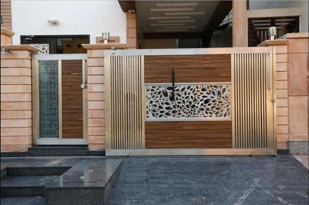 20 Pagar Rumah Minimalis Desain Terbaru Blog Qhomemart