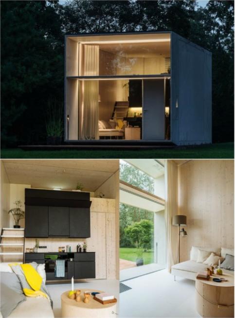 rumah kebun minimalis