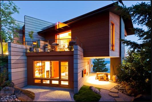 41 Gambar Rumah 2 Lantai Dari Kayu Terbaik