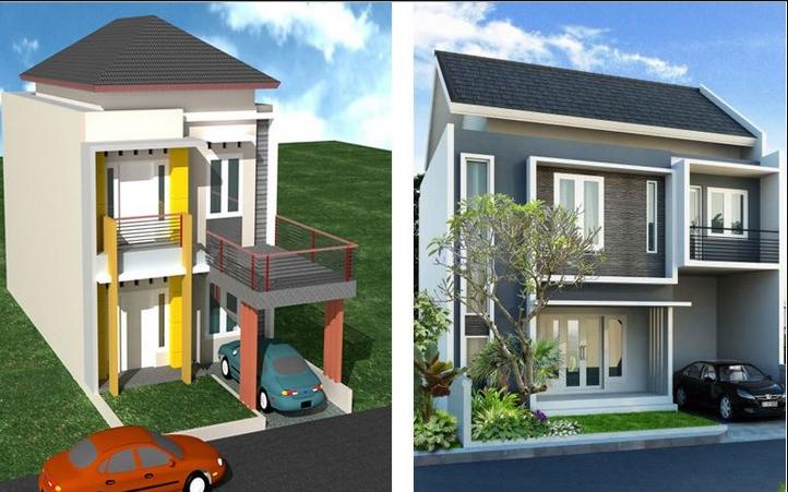 77 Rumah Minimalis 2 Lantai Yang Murah Blog Qhomemart