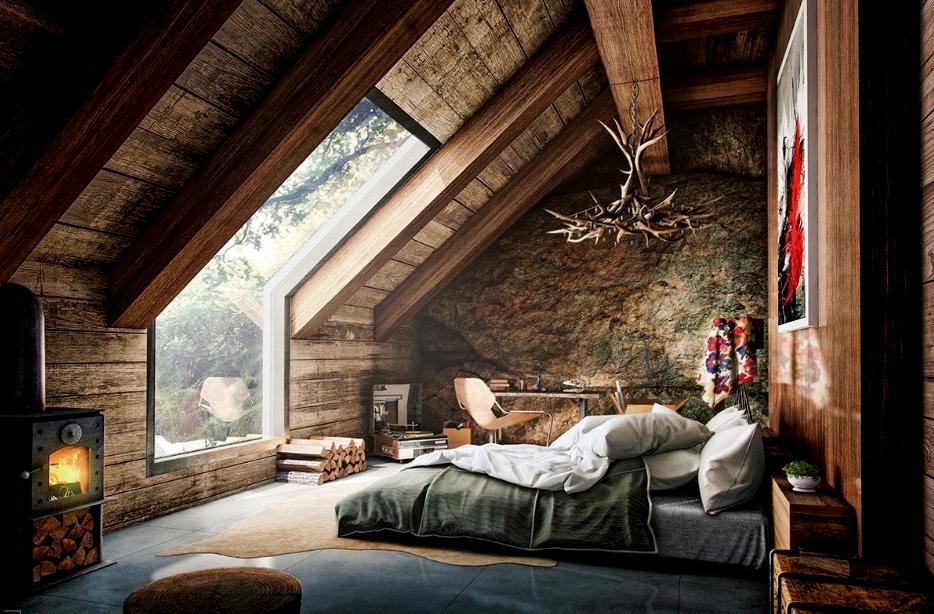 membangun loteng kamar tidur