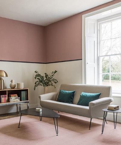 warna pink pucat untuk rumah minimalis