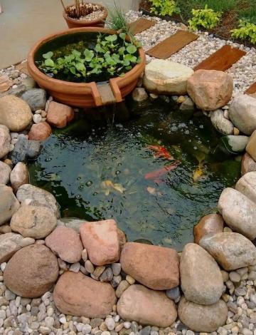 6+ inspirasi kolam ikan minimalis depan rumah | blog qhomemart