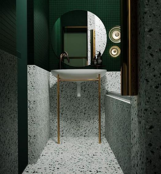 granit kamar mandi
