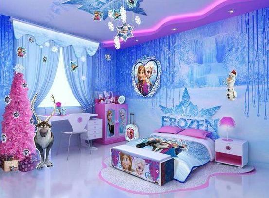 Permalink to Top 17+ Terbaik Desain Kamar Tidur Anak Frozen