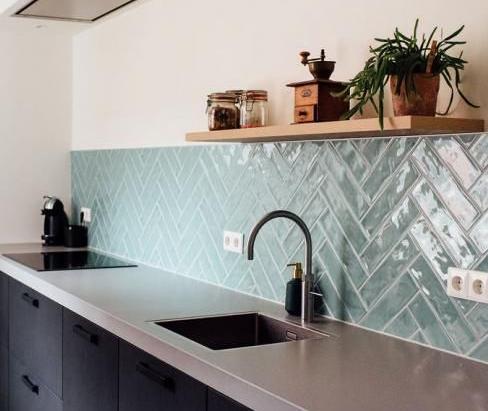8 Inspirasi Motif Keramik Dapur Cantik Minimalis Blog Qhomemart