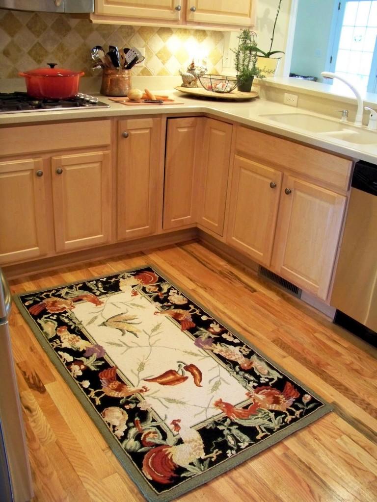 dapur kecil sentuhan karpet