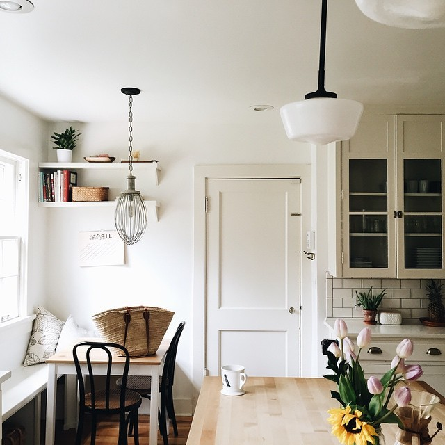 dapur kecil tapi rapi sentuhan rak