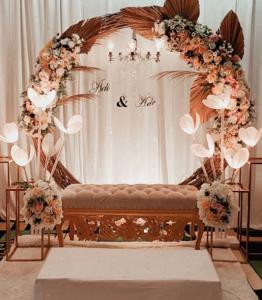 dekorasi pelaminan di rumah untuk pernikahan impian | blog