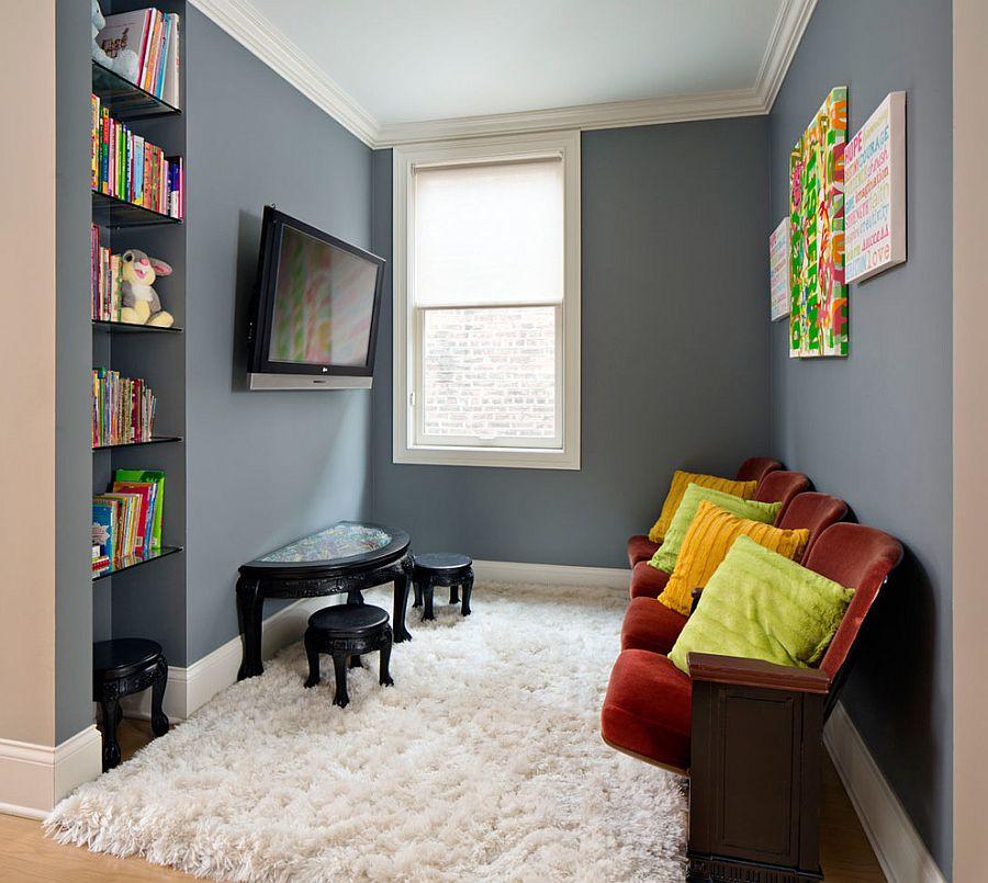 dekorasi ruang tv kecil