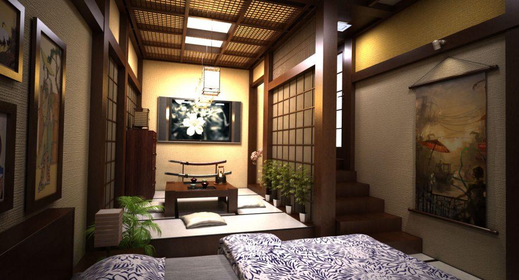 desain interior jepang