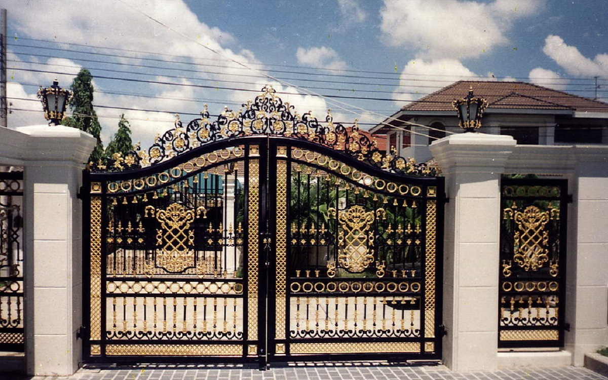 Model Pagar Rumah Mewah Terbaru Blog Qhomemart
