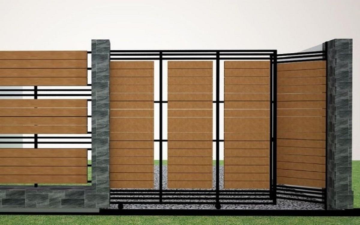 Pagar Rumah Minimalis Modern | Blog QHOMEMART