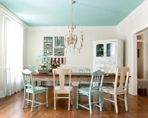 warna cat plafon rumah minimalis