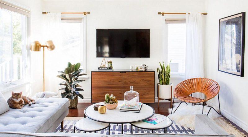 ruang keluarga sederhana