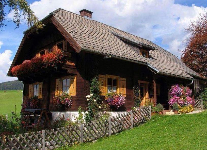 gambar rumah kayu unik