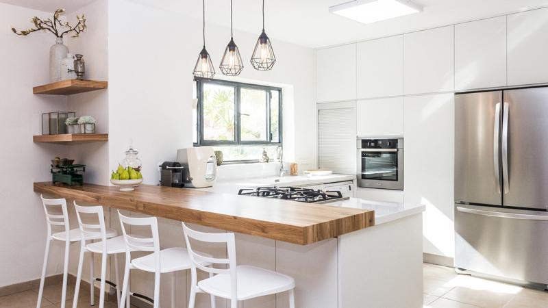 lampu unik dapur