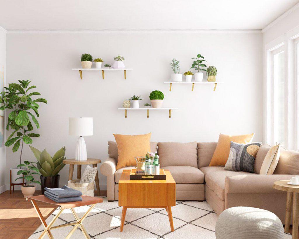 Desain Ruang Tamu Minimalis Sederhana Yang Cocok Untuk Semua Tipe Hunian Blog Qhomemart