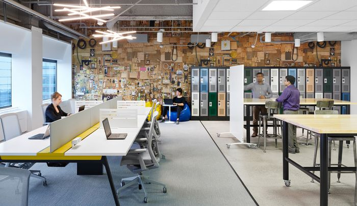 tata ruang kantor terbuka