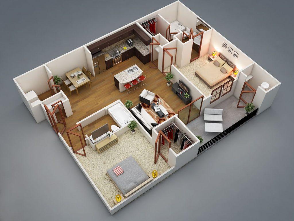 5 Desain Interior Rumah Type 36 Paling Menarik Blog Qhomemart