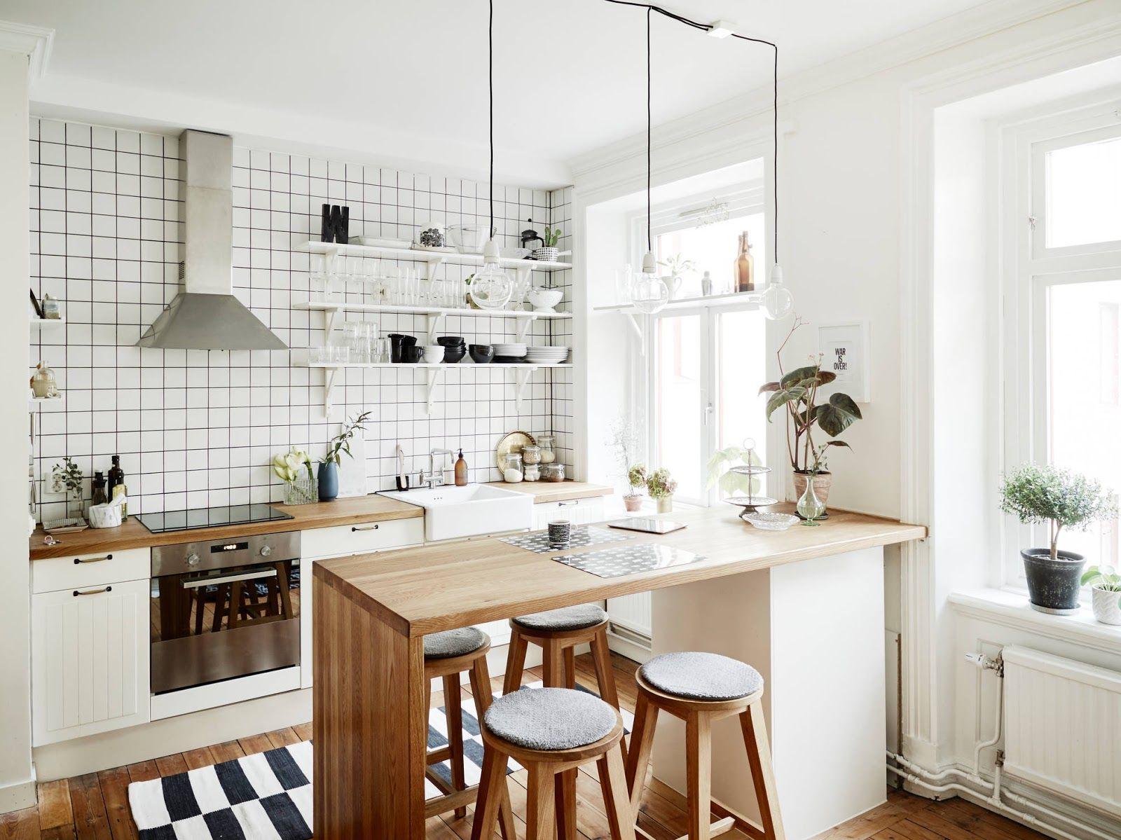 Inspirasi Desain Interior Dapur Cantik Sederhana Untuk Apartment Blog Qhomemart
