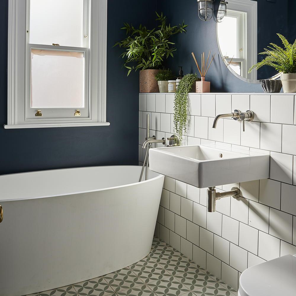 dekorasi kecil kamar mandi