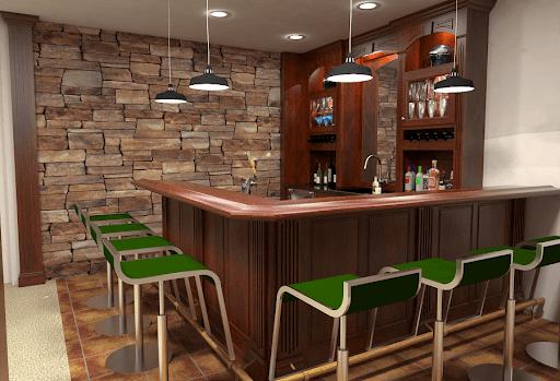 mini bar rumah