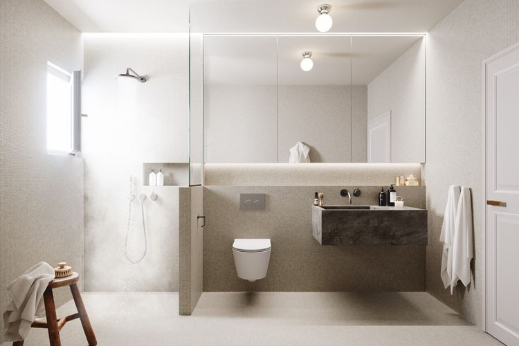 wc minimalis