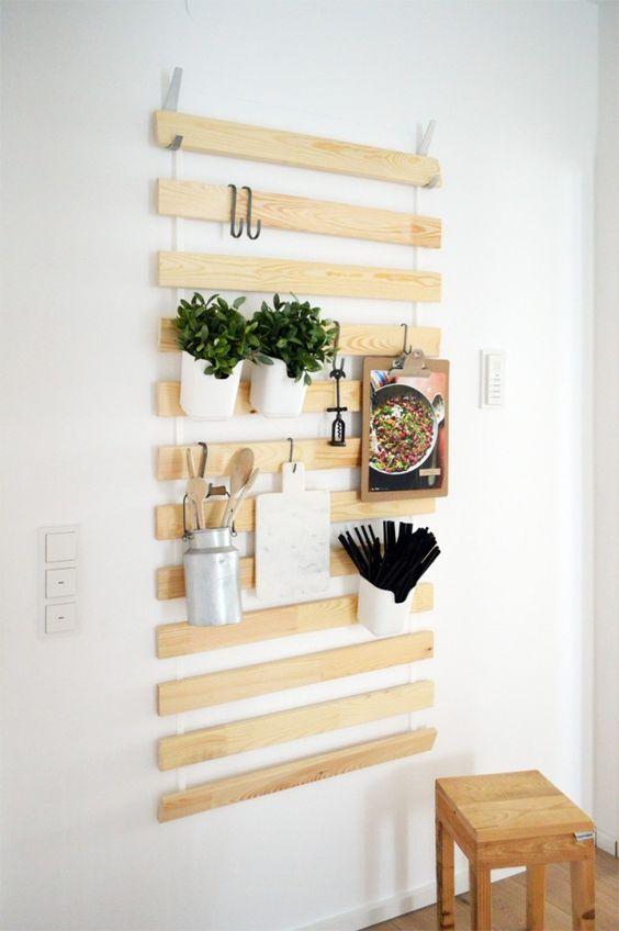 rak gantung balok kayu