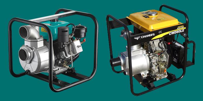 pompa air diesel