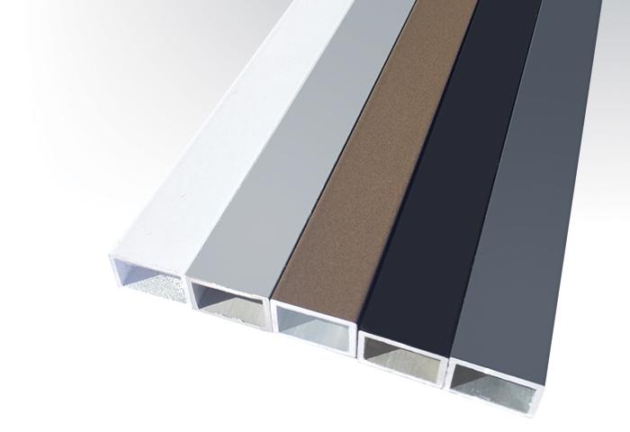 warna aluminium