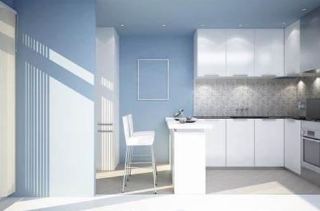rekomendasi warna cat dapur rumah
